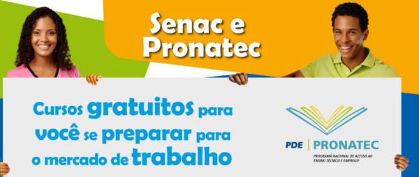 Pronatec Senac: veja como funciona essa parceria!