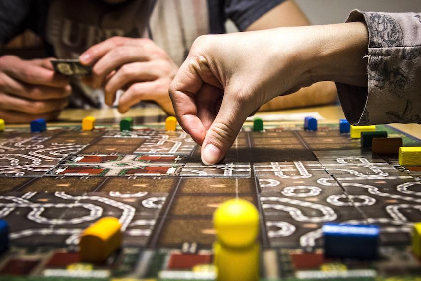 jogos de tabuleiro estudante