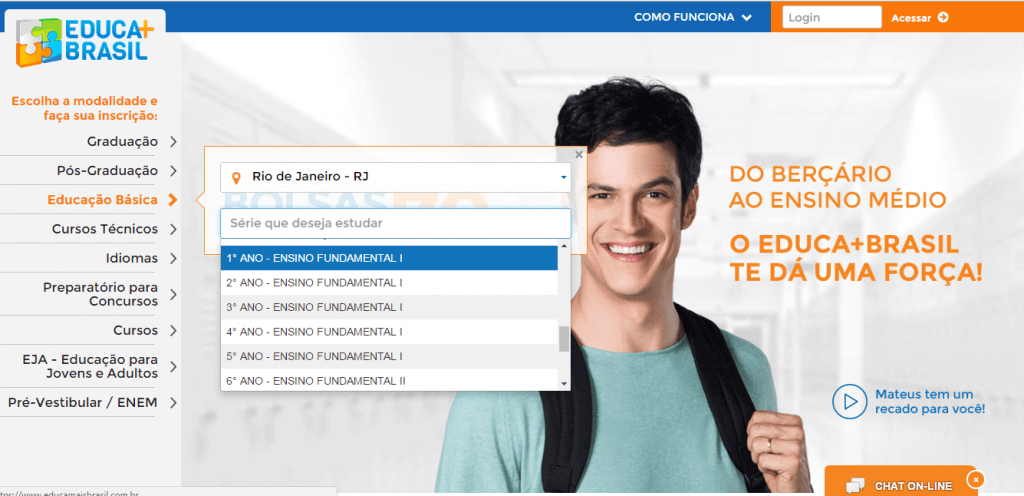 Educa Mais Brasil 2019 Escolas Cadastradas
