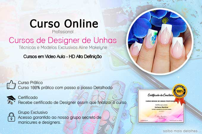 curso designer de unhas profissional