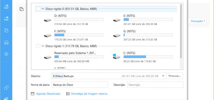 EaseUS Todo Backup Home: mantenha seus arquivos importantes a salvo!