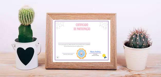curso algodao doce gourmet certificado