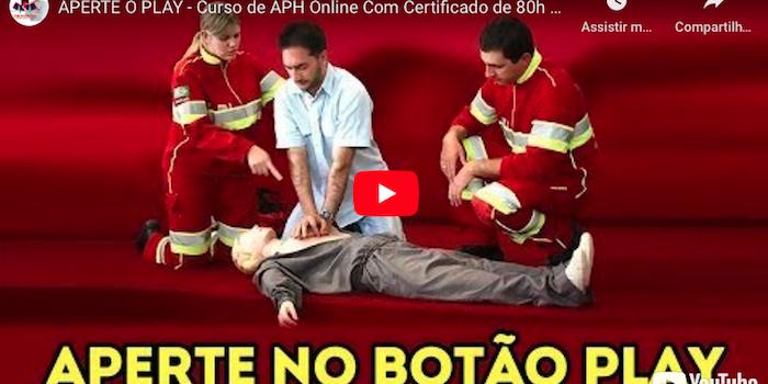 Curso Online de APH com certificado – conheça!