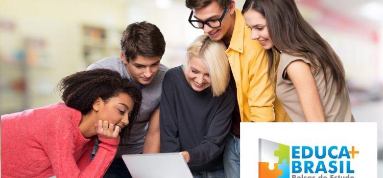 Inscrição Educa Mais Brasil 2021 – Bolsas para faculdade, pós e mais!